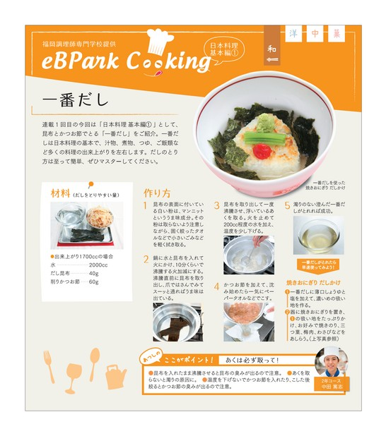 eBPark cooking Vol.1